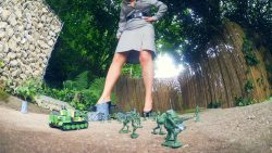 Giantess Loryelles Garden Warfare part one Foot Fetish