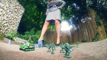 Giantess Loryelles Garden Warfare part one Foot Fetish