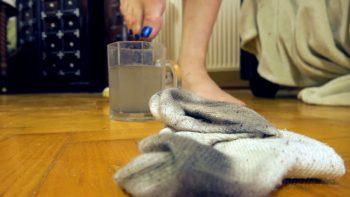 Loryelle Sock Tea Foot Fetish
