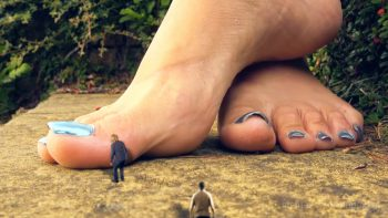 Giantess Loryelle Ex Boyfriend Collection SFX Foot Fetish