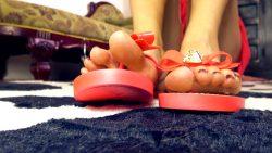 Loryelle Flip Flops Show Custom