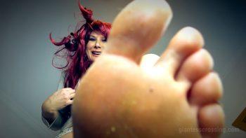 giantess loryelle shrunken gangster bosses pov sfx