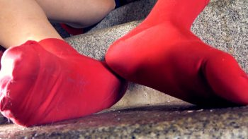 Giantess Loryelle Tiny Party Crashers SFX Socks