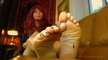 Giantess Loryelle Date 4 Panty Entrapment SFX