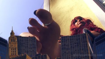 Loryelle Giantess Attack Microcity in Panic SFX