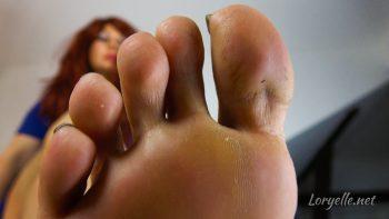 Loryelles Shrunken Foot Slave POV Custom