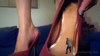 Giantess Loryelle Date 5 Tortured High Heels Butt Feet SFX