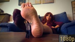 Giantess Loryelle Date 5 Tortured High Heels Butt Feet SFX