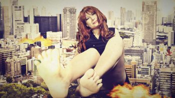 Loryelle Giantess City Rampage SFX Foot Fetish