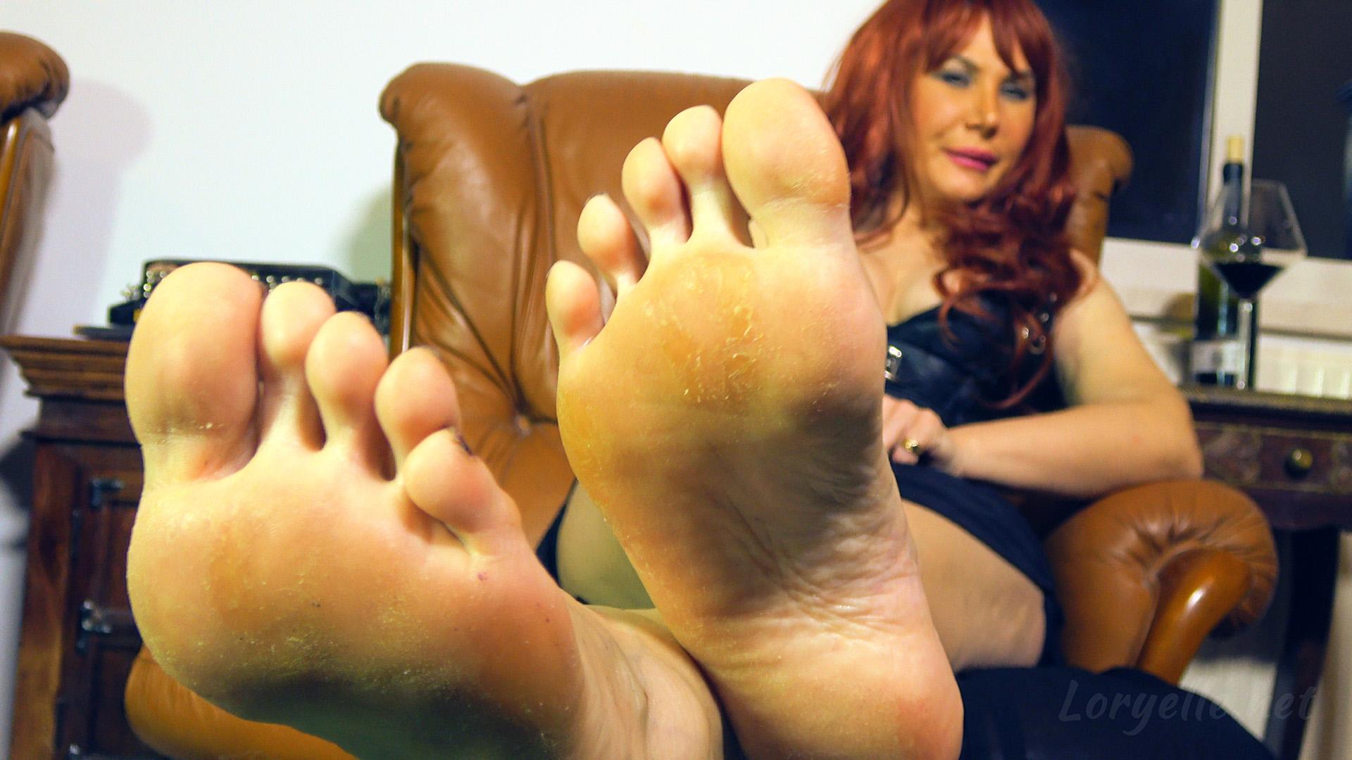 Fuß lecken