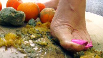 Lady Loryelle Tangerine Crush Fruits Foot Fetish