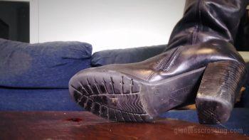 Loryelle Date Six Giantess Boots of Doom SFX Fetish