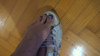 Loryelle Sweaty Feet after Gym POV Foot Fetish