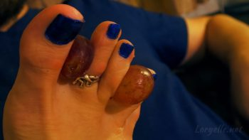 Loryelle Fruity Date Wet Feet Foot Fetish