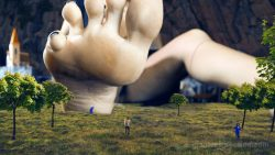 Loryelle Giantess Mountain Goddess Awakening Female Giant Gulliver