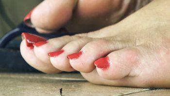 Shrunken Smashed SFX Giantess Loryelle Foot Fetish