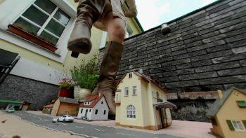 Giantess Loryelle Shrunken City Devastation Boots Feet Fetish