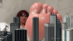 Giantess Loryelle Melting Worlds Unaware Micro Foot Fetish