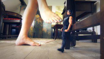 Giantess Loryelle Masturbation Punishment Foot Doll Fetish