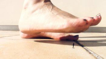 Loryelle Micro Tourists Under Giantess Feet SFX