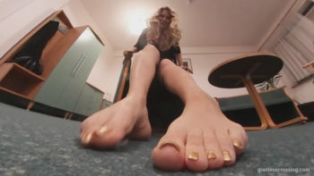 New Giantess Slave Loryelle GTS Foot Fetish