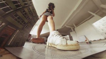 vr360 gts Loryelle city destroyer 2 giantess sneakers socks