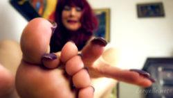 Loryelle Foot Worship POV