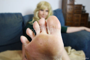 Loryelle beautiful goddess feet foot fetish