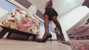 ew Home Giantess Nylon Stockings vr360