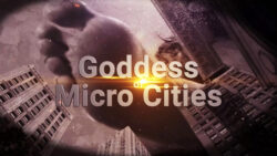 giantess loryelle goddess micro cities sfx foot fetish vore butt